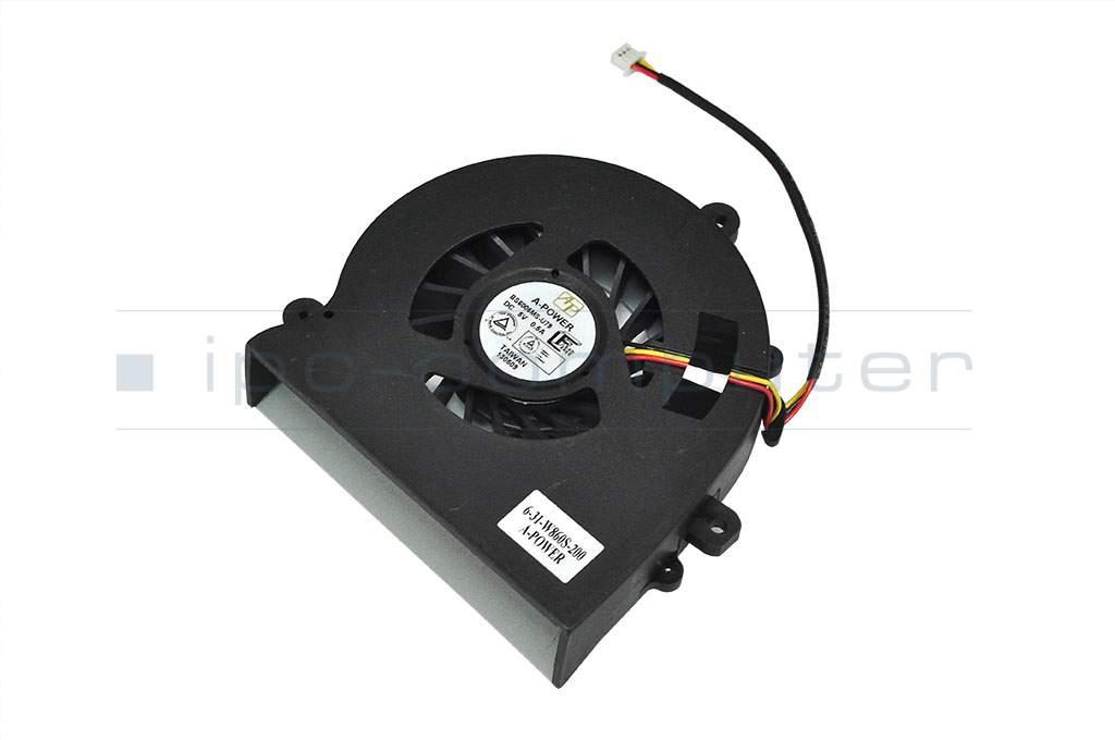 Fan (CPU) original suitable for Clevo W860CU