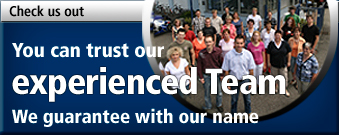 You can trust our experienced team - We guarantee with our name